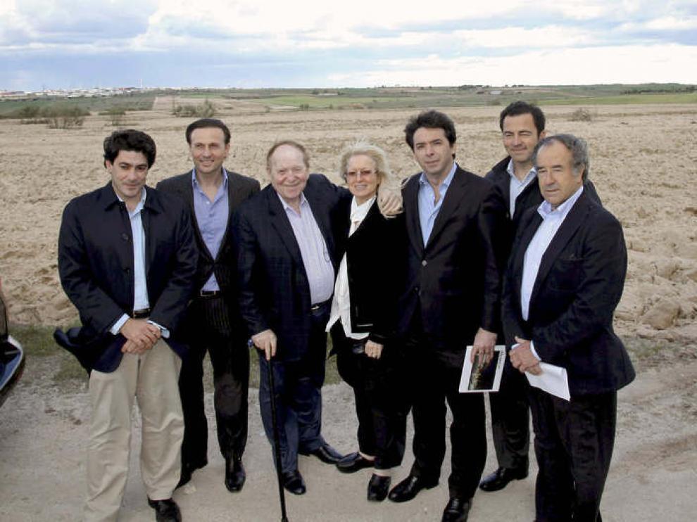 El inversor Sheldon Adelson en su visita a Madrid