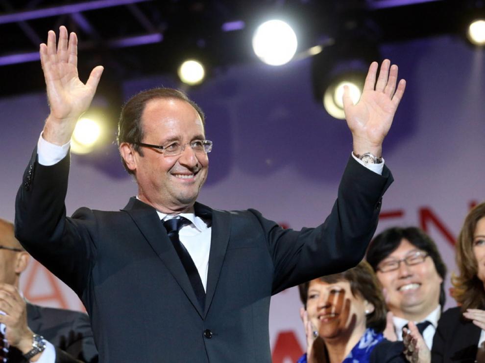 El socialista François Hollande