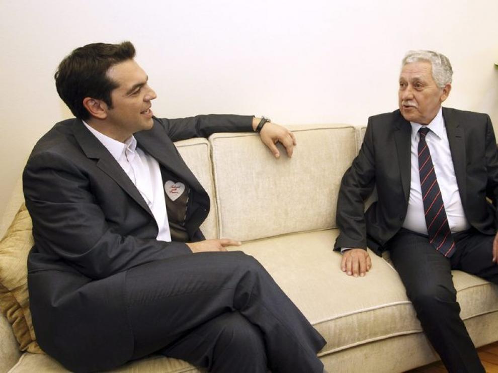 El lider de Syriza intenta formar gobierno