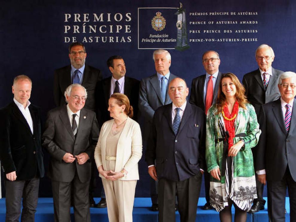 Jurado del Premio Príncipe de Asturias