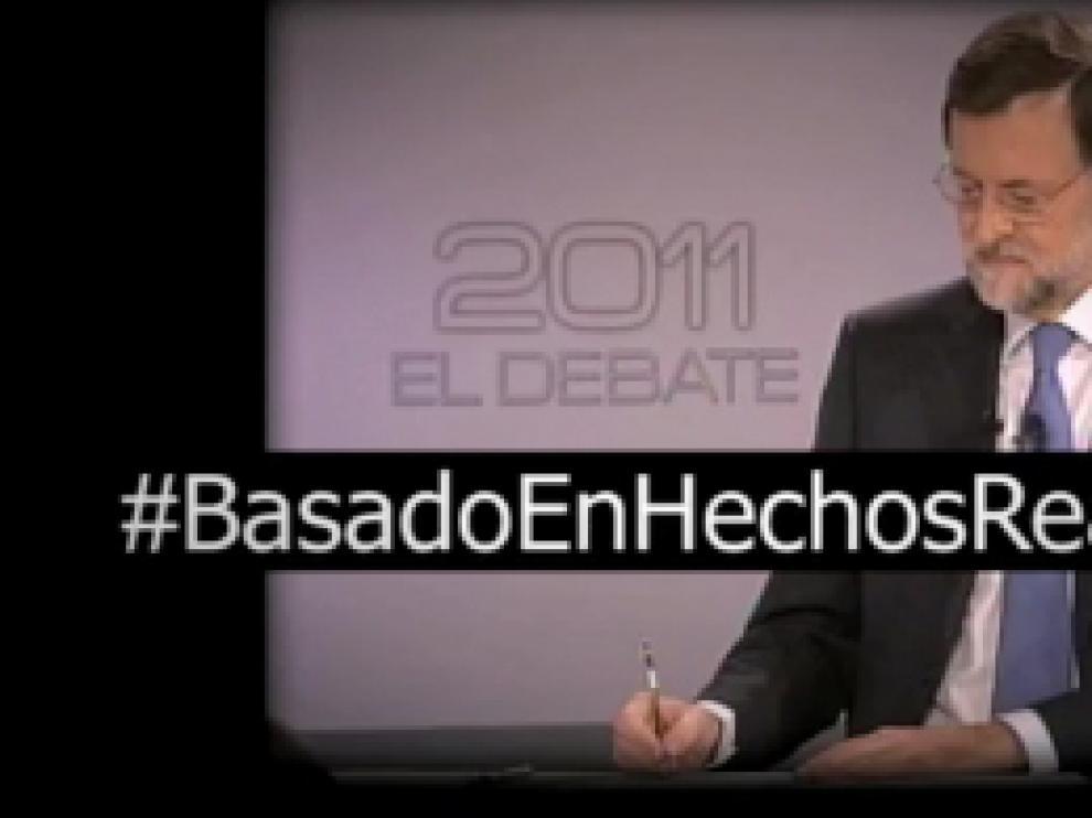 El PSOE carga contra el PP con el vídeo 'Basado en hechos reales'