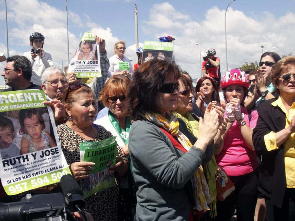 Ruth Ortíz madre de los dos pequeños desaparecidos