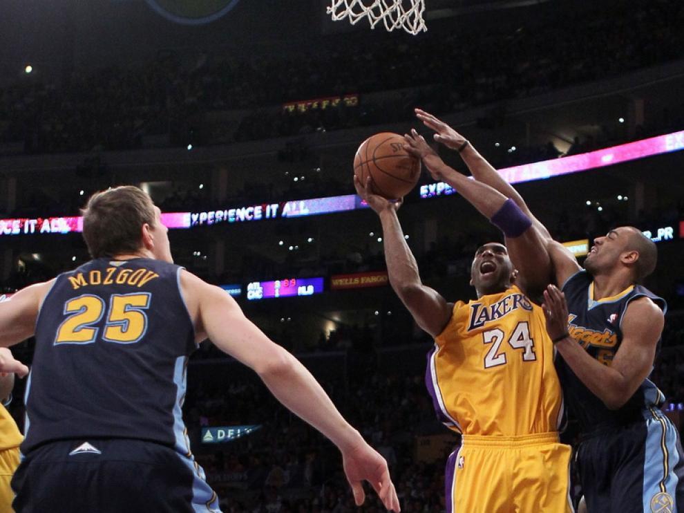 La reacción de Bryant no fue suficiente para los Lakers