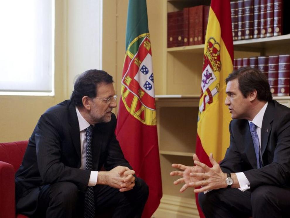 Mariano Rajoy, en la Cumbre Ibérica