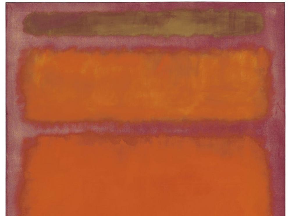 'Naranja, rojo, amarillo', de Mark Rothko