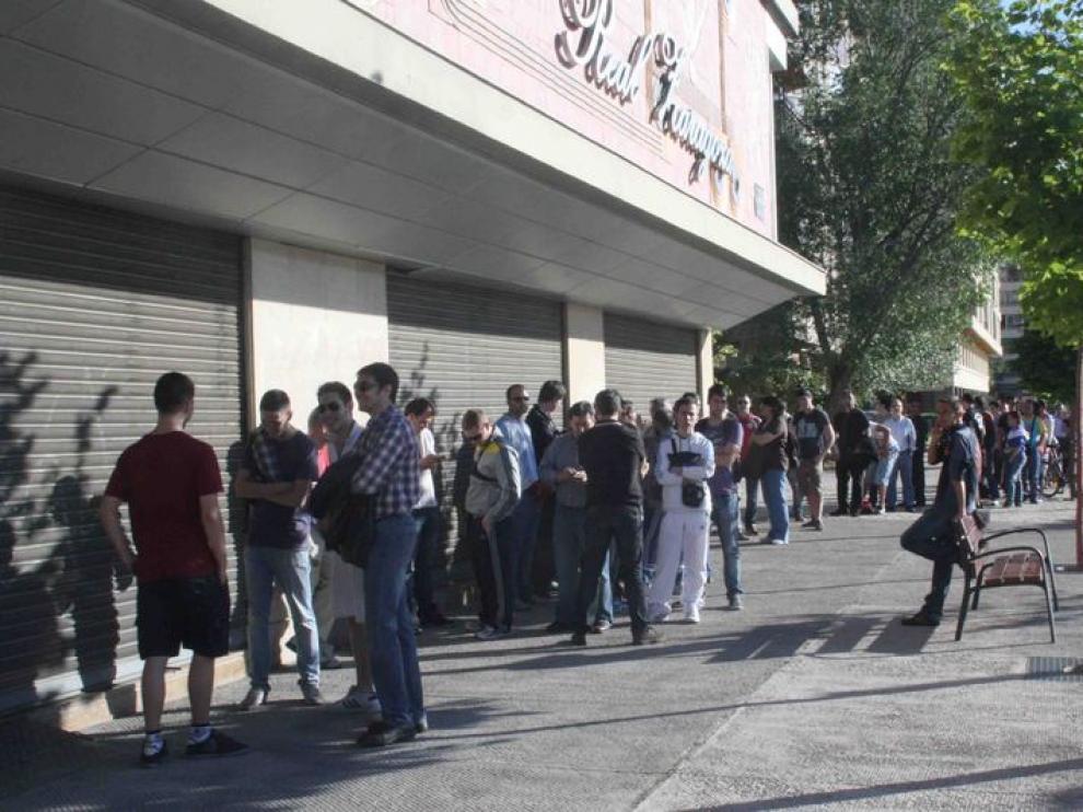 Venta de entradas del partido contra el Getafe
