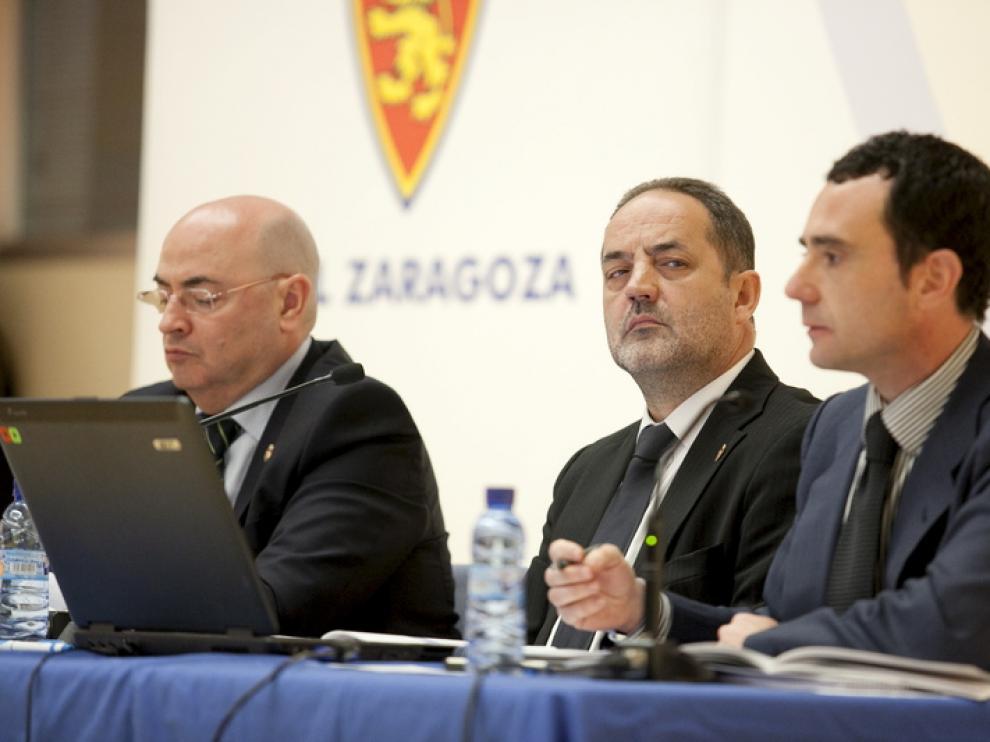Junta de accionistas del Real Zaragoza