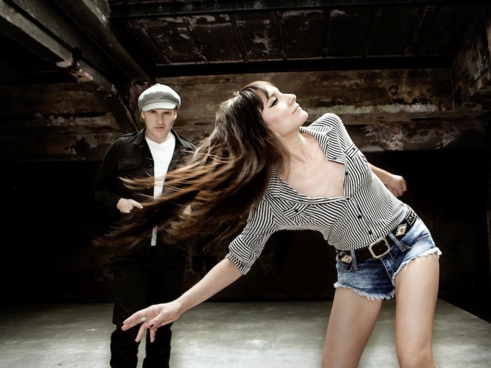 Imagen promocional del último trabajo el dúo Amaral