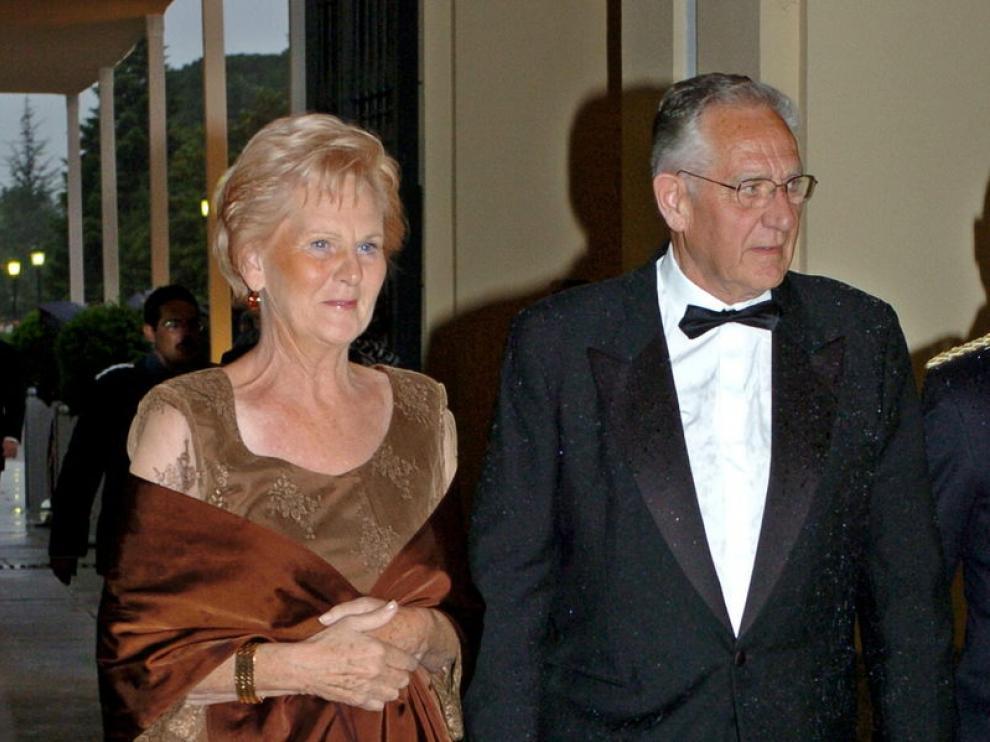 Juan María Urdangarin Berriotxo y Clara Liebaert, padres de Iñaki Urdangarín