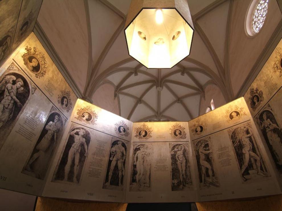 Exposición en la catedral de Tarazona