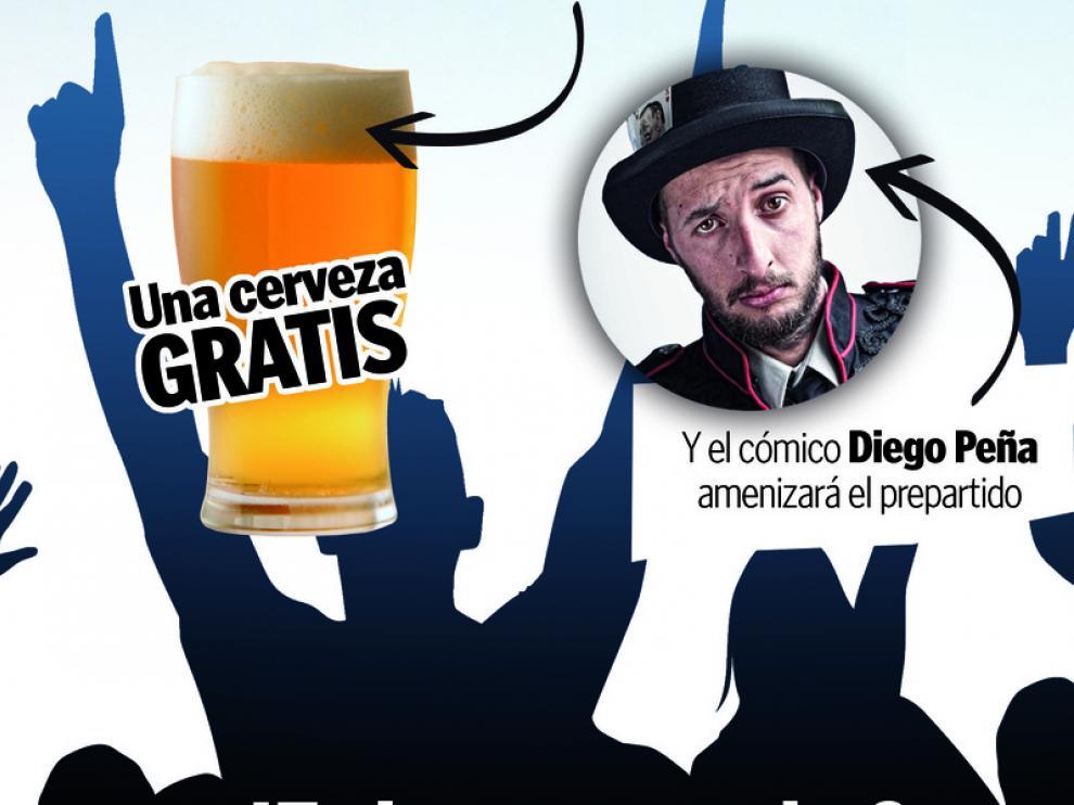 Heraldo te invita a disfutar del partido del domingo en Torreluna