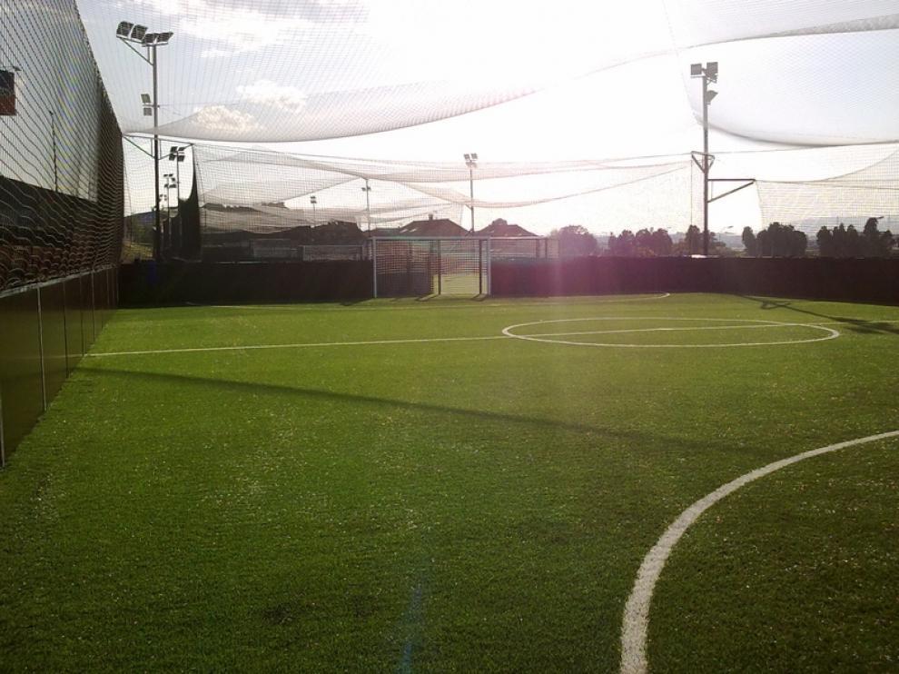 Pista de fútbol indoor de Soccerworld Zaragoza