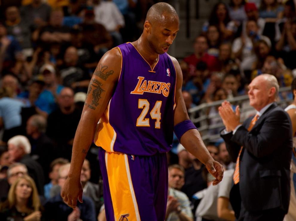 Kobe Bryant no pudo con e vendaval de los de Colorado.