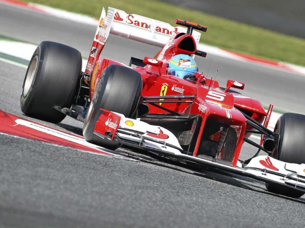 Alonso recupera sensaciones