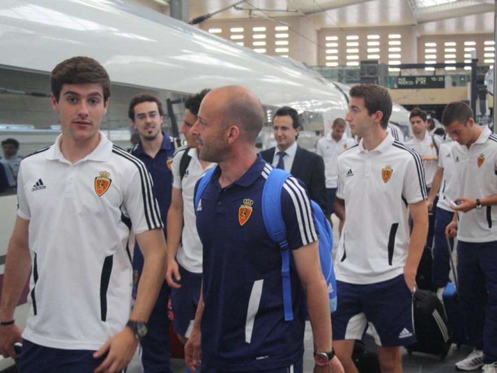 El Real Zaragoza se prepara para subir al AVE