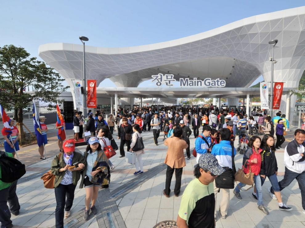 La Expo de Yeosu abre sus puertas