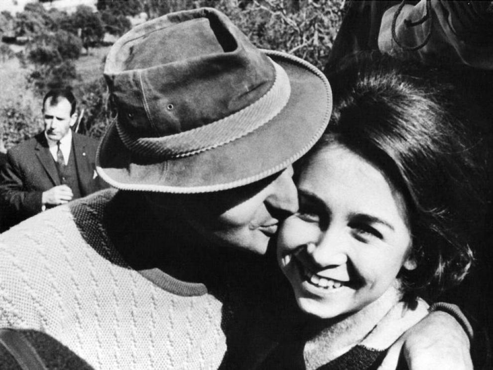Juan Carlos y Sofía, en 1966