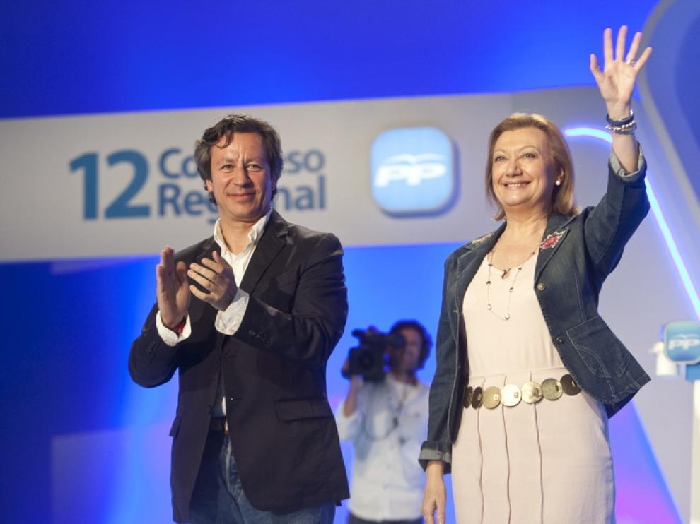 Rudi, en el congreso regional del PP