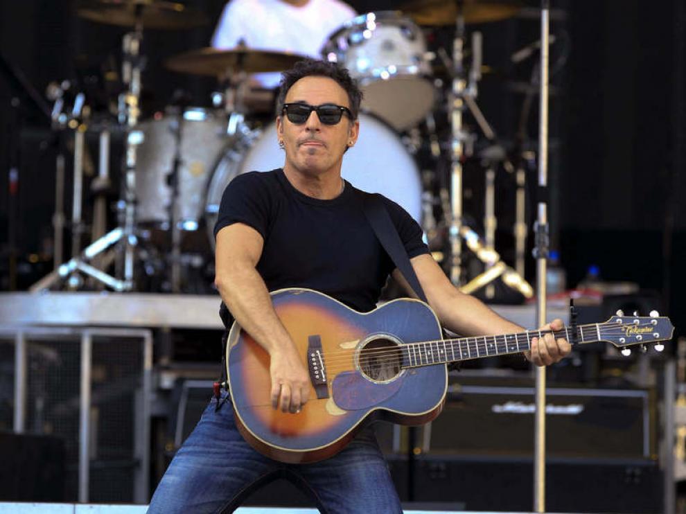 Springsteen, ensayando en Sevilla este sábado