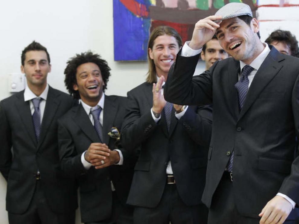 Celebración del título liguero Real Madrid