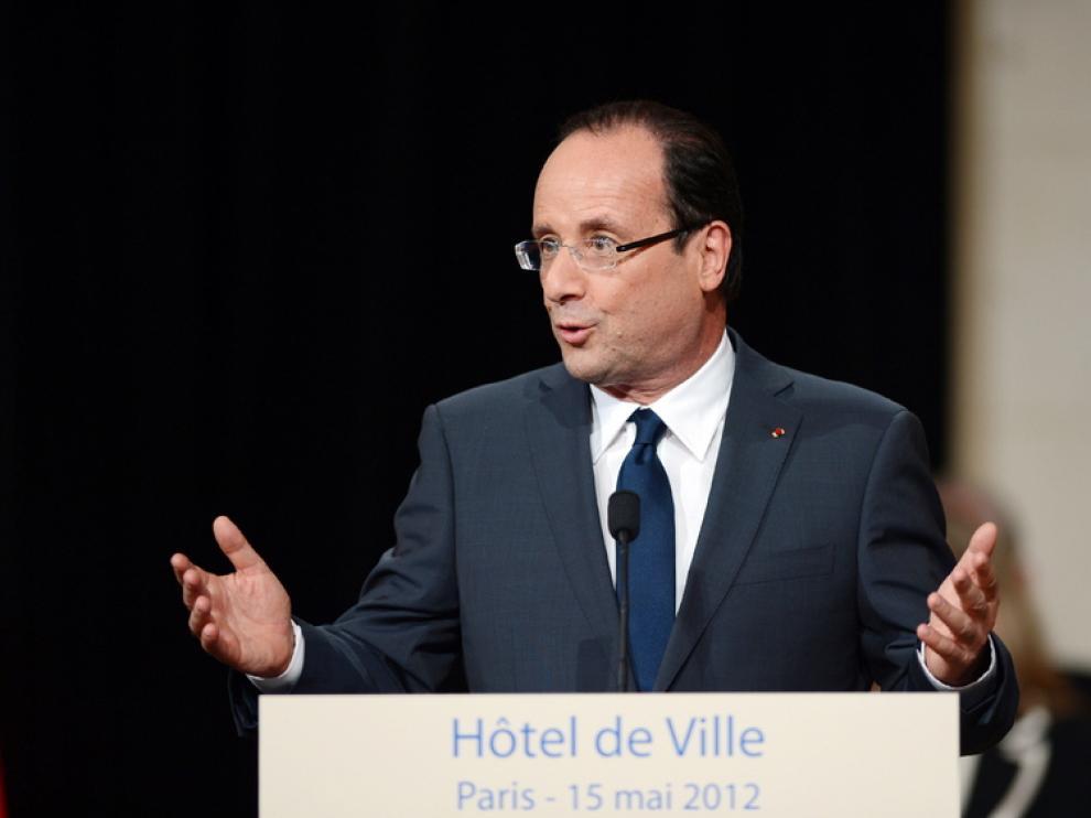 Toma de posesión de Hollande