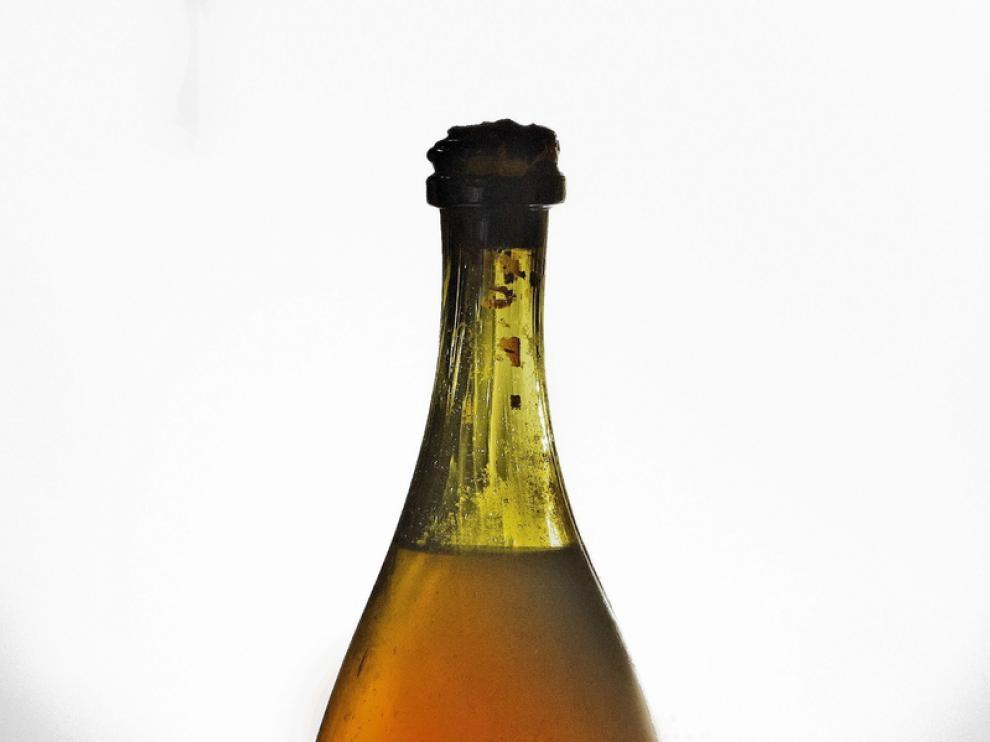 La botella pasó de generación en generación de la familia Vercel