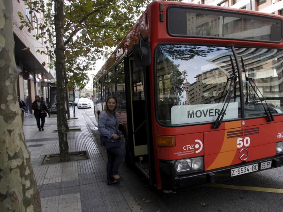 Un autobús de Movera.