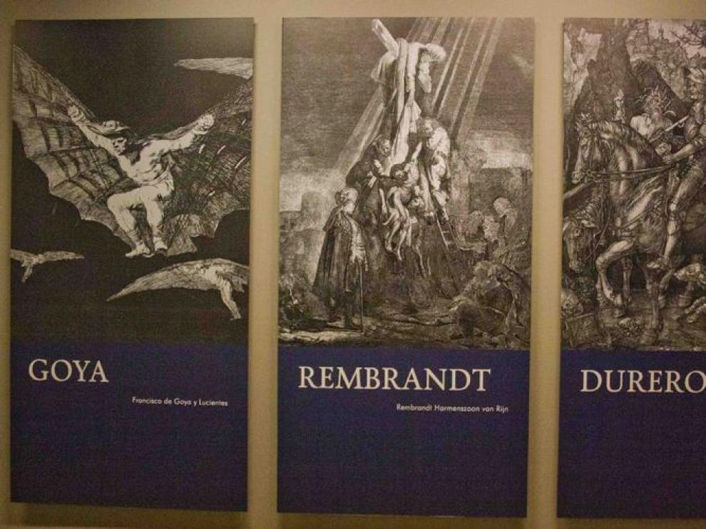 Exposición 'Goya-Rembrandt-Durero'