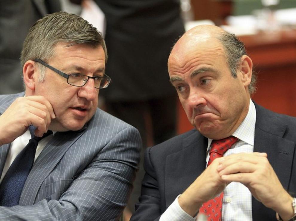 El ministro de Economía del Gobierno español, Luis de Guindos