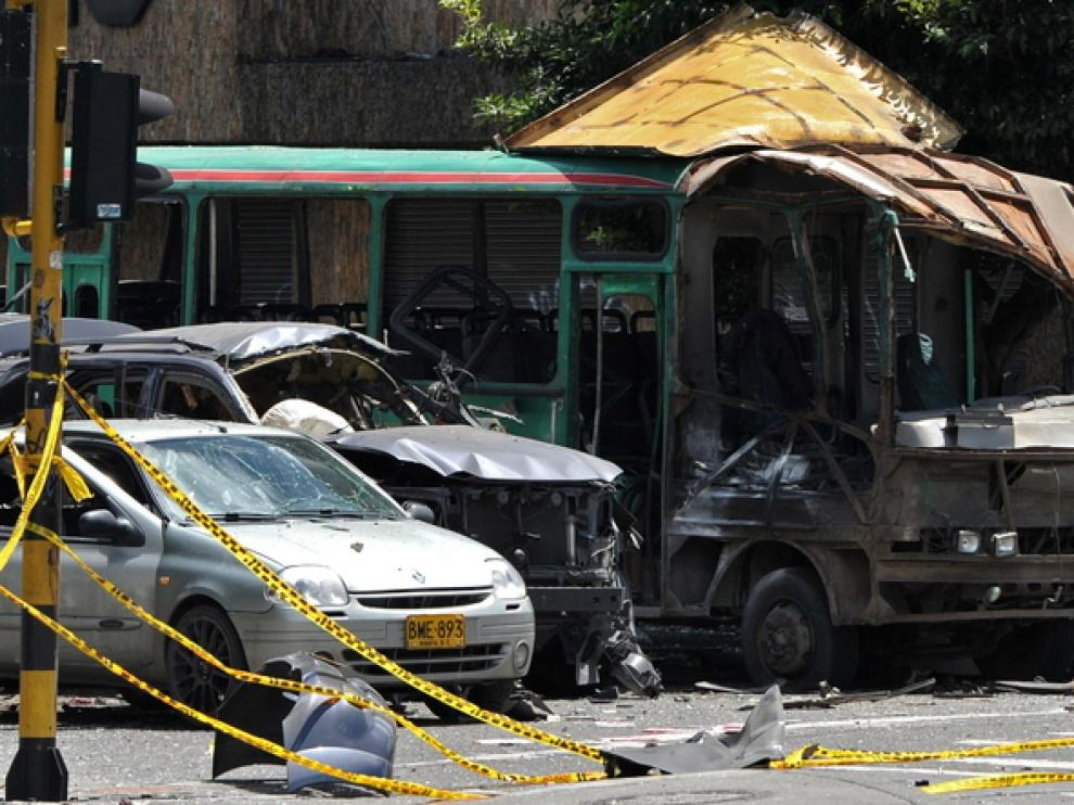 Acusan a las FARC del atentado en Bogotá