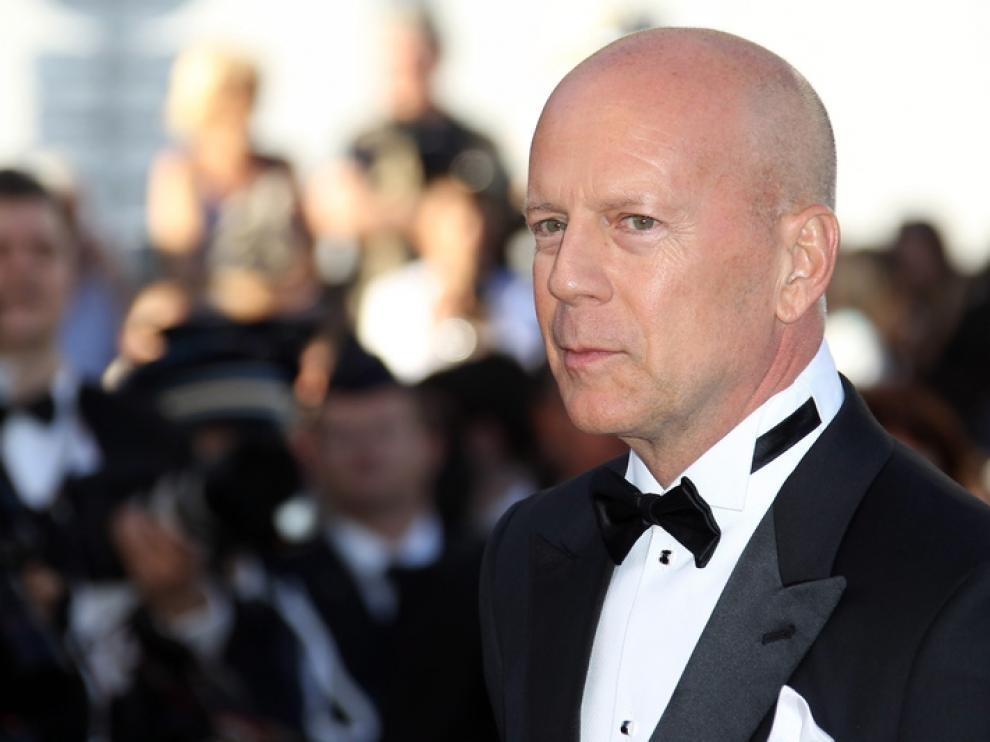 Bruce Willis,terso como un bebé