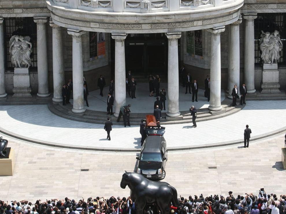 Funeral de Carlos Fuentes