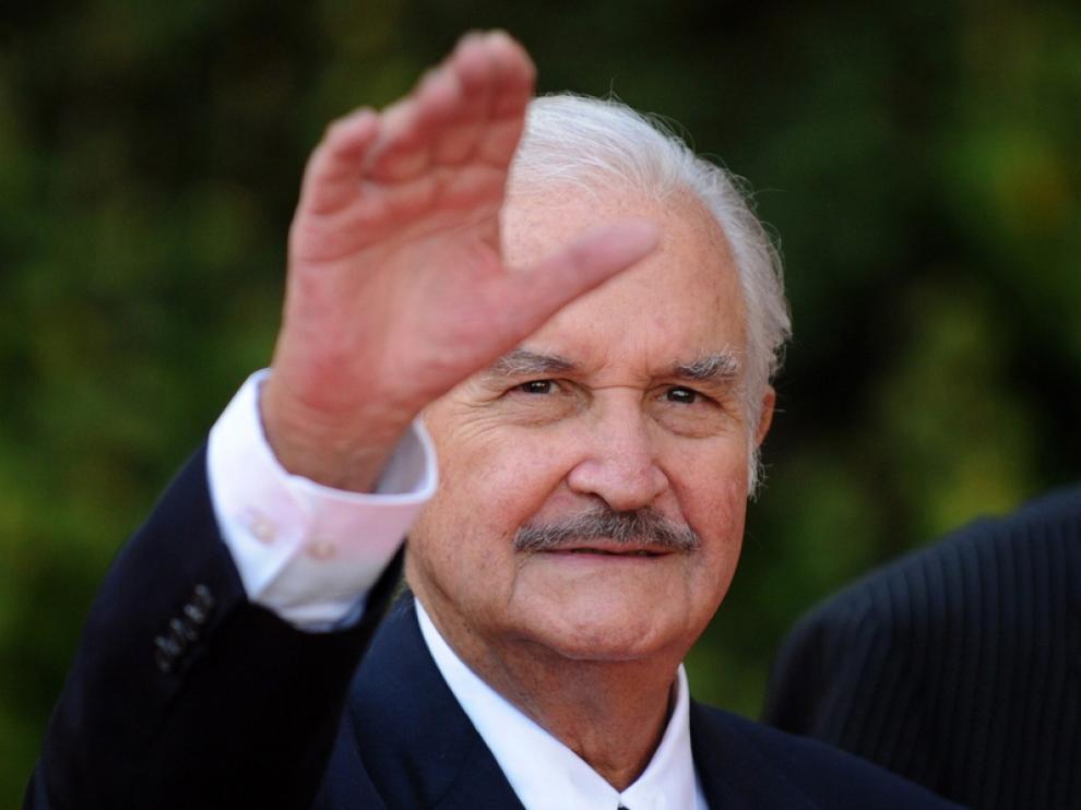 Carlos Fuentes en una imagen de archivo