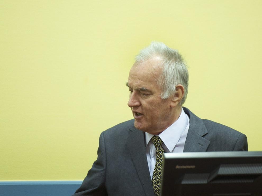 El excomandante serbo-bosnio Ratko Mladic