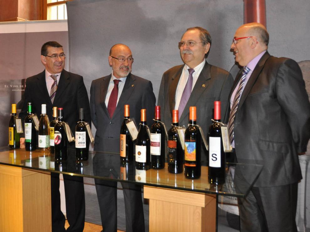 Presentación de la campaña 'El vino de las piedras'