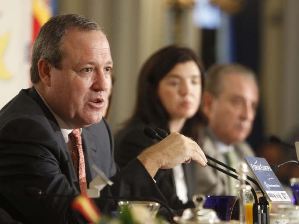 El vicepresidente de la CEOE y presidente de la patronal de Castilla y León, Jesús Terciado