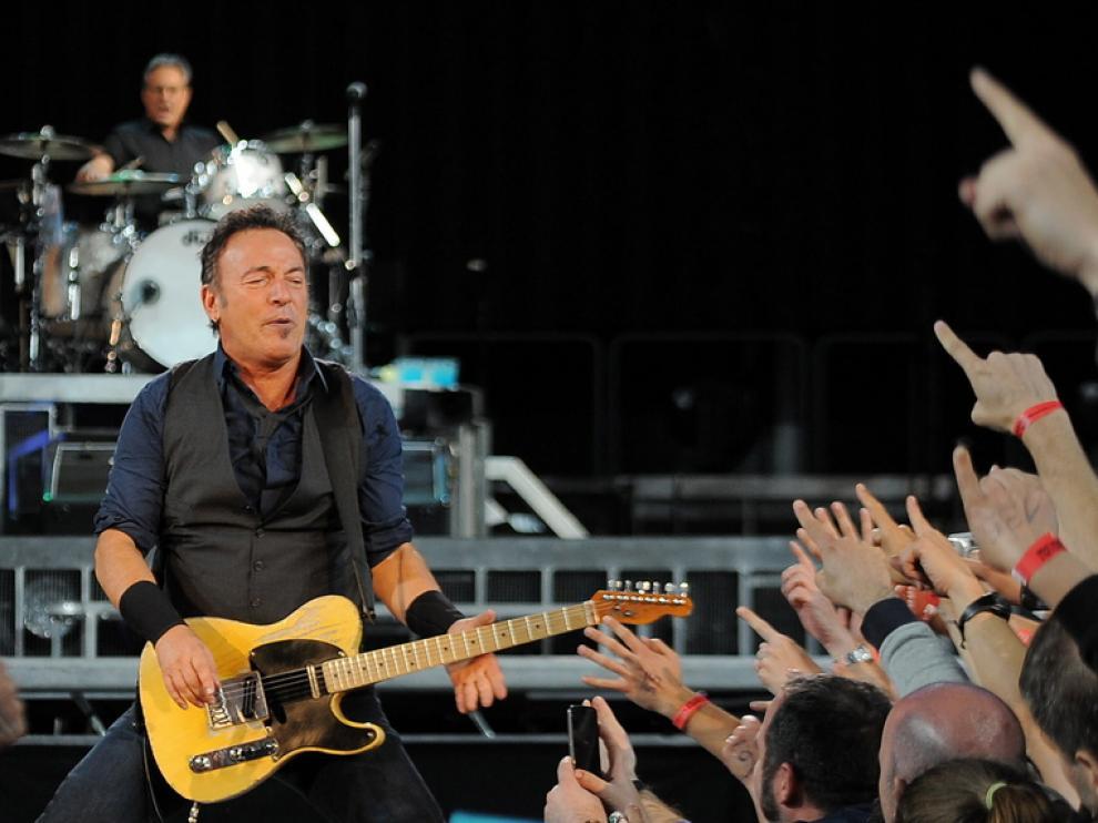 Bruce Springsteen aclamado en Barcelona.