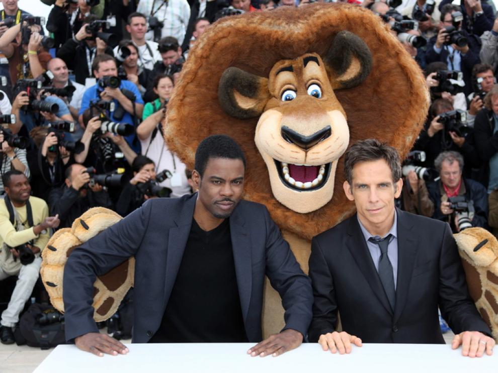 Presentación de 'Madagascar 3' en Cannes