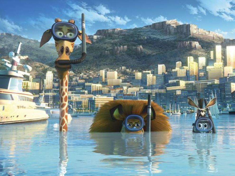 Fotograma de  'Madagascar 3'