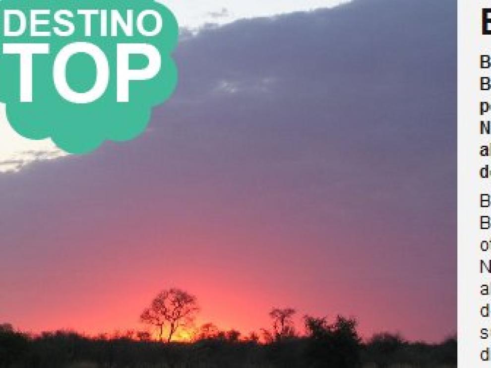 Botsuana, destino top
