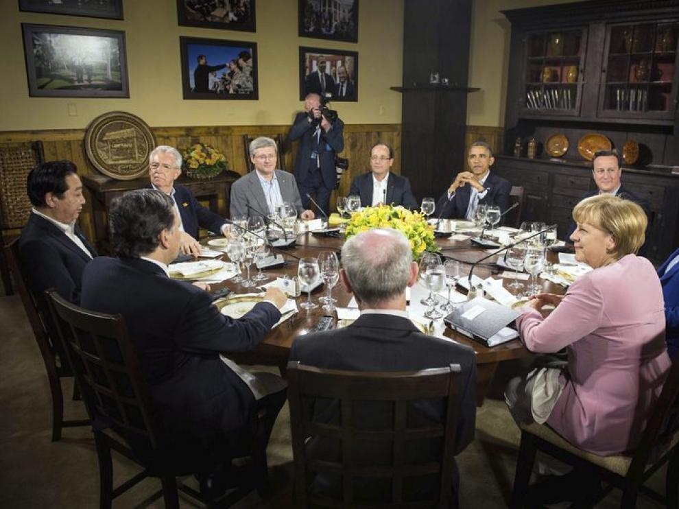 Reunión del G8 en Camp David