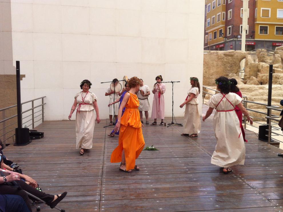 Música y danza, en el Museo del Teatro Romano