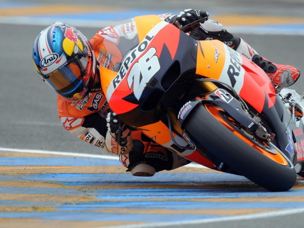 Dani Pedrosa en Le Mans