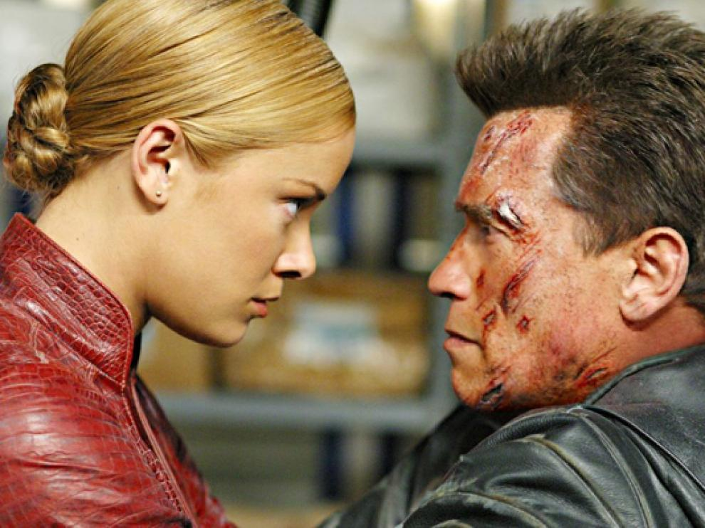 Fotograma de la película 'Terminator 3: la rebelión de las máquinas'.