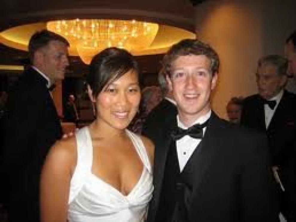 Mark Zuckerberg y su mujer Priscilla Chan