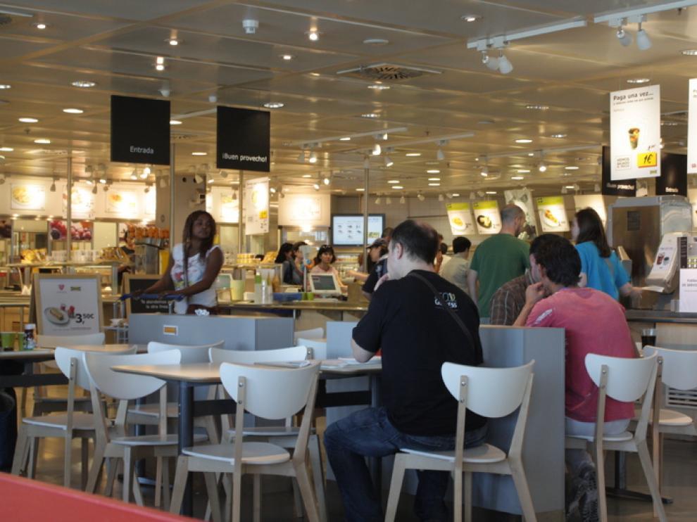 El restaurante de Ikea