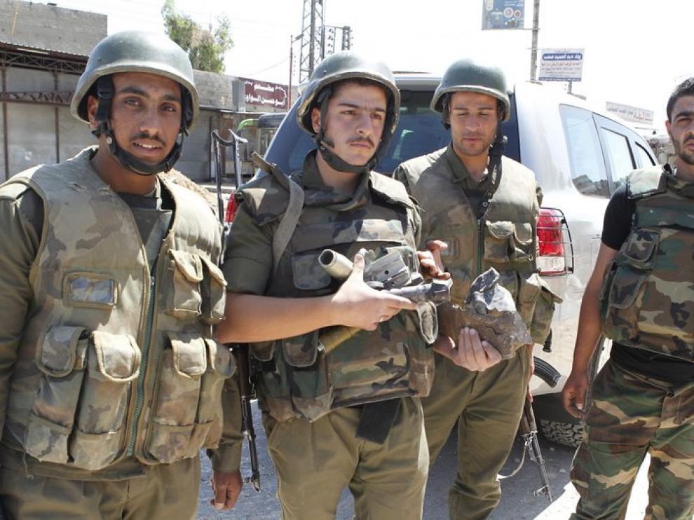 Otras tres personas perecieron en la periferia de Damasco