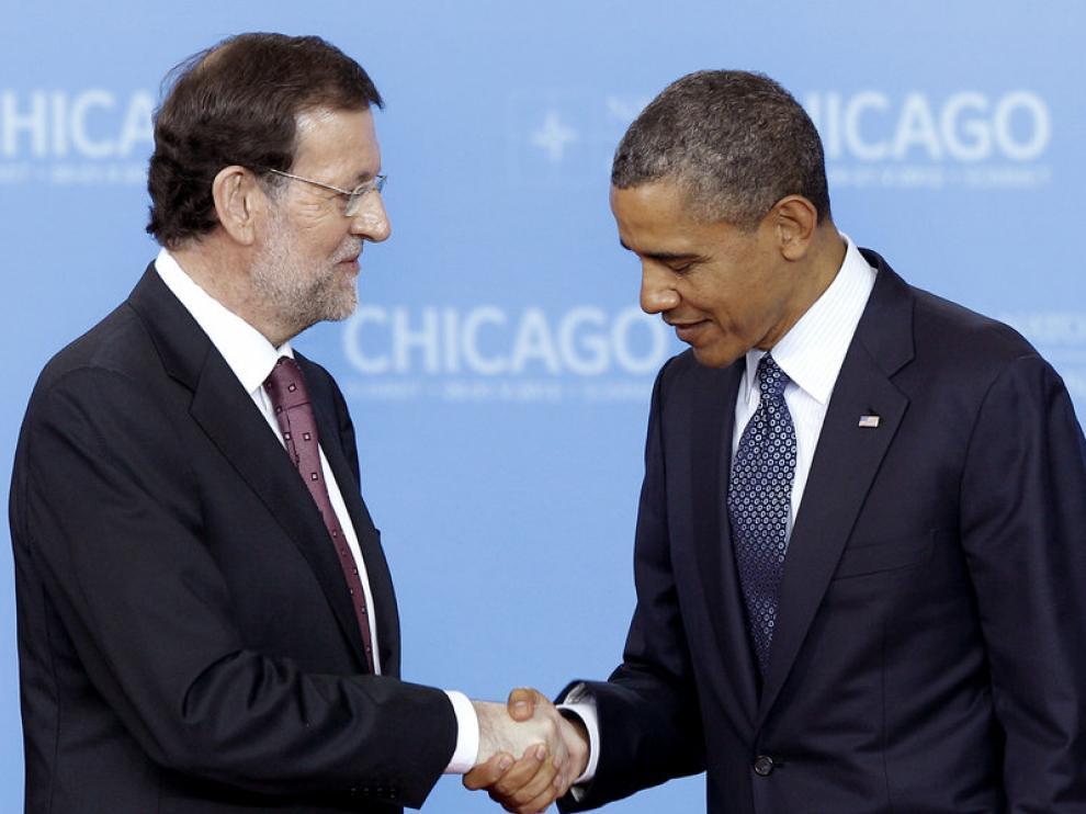 Rajoy en la cumbre de la OTAN