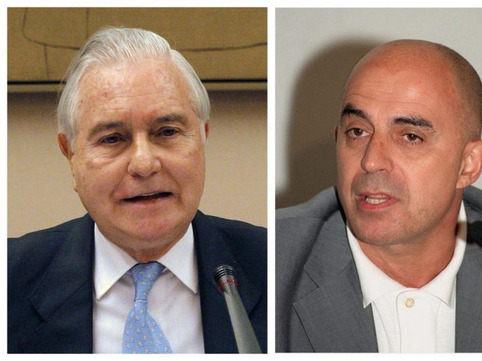 Carlos Dívar y a su izquierda Benítez