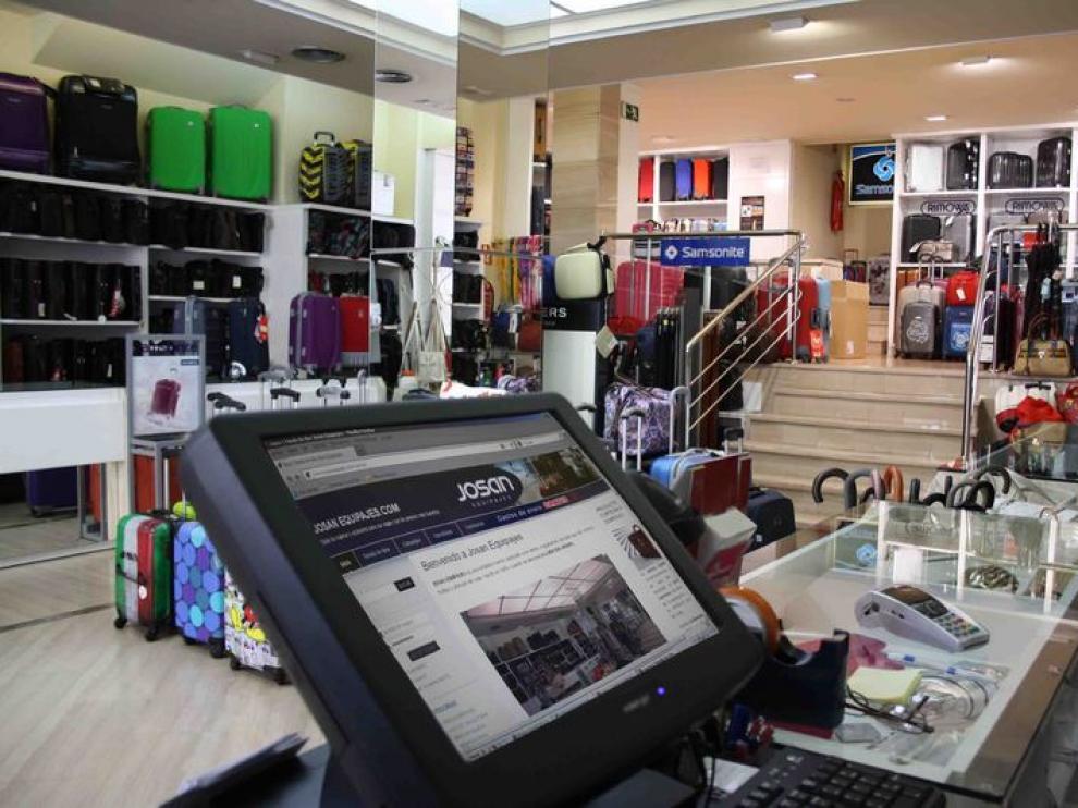 Josan Equipajes realiza numerosas ventas a través de su página web
